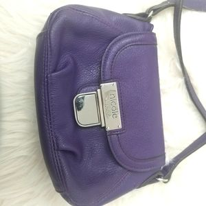 Purple Nicole by Nicole Miller Crossbody Bag.